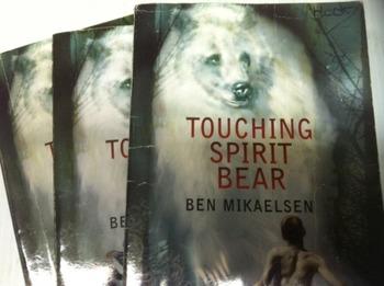 """""""Touching Spirit Bear"""" books, by Mikaelsen- Literature Circle Set"""