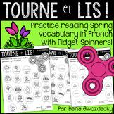 {Tourne et Lis: Le printemps!} Practice reading in French