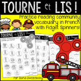 {Tourne et Lis! Ma communauté} Practice reading in French