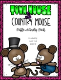 """""""Town Mouse and Country Mouse"""" Fable Activity Pack"""