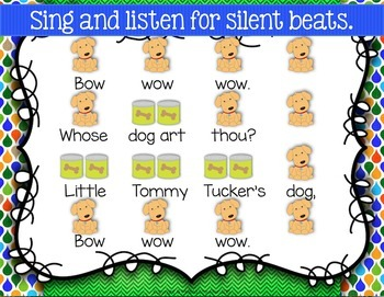 Bow Wow Wow {Ta Rest} {Do} Kodaly Method Folk Song File