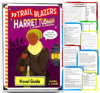 """Trailblazers: Harriet Tubman A Journey to Freedom"" - Novel Guide"