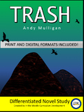 """Trash"" Differentiated Novel Study"