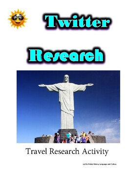 (Travel and Tourism) Brazil Tour Operator - Twitter Research Guide