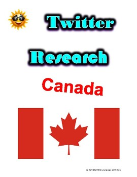 (Travel and Tourism) Canada- Twitter Research Guide