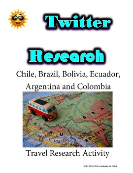 (Travel and Tourism) Condor Travel- Twitter Research Guide