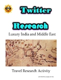 (Travel and Tourism) Corinthian Travel- Twitter Research Guide