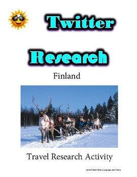 (Travel and Tourism) Discovering Finland - Twitter Research Guide