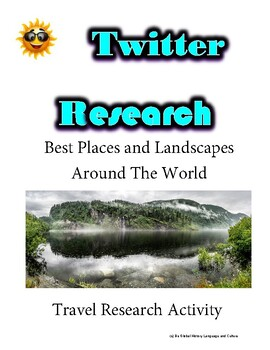 (Travel and Tourism) Discoveryland- Twitter Research Guide
