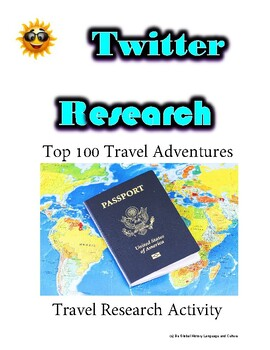 (Travel and Tourism) Divergent Travelers - Twitter Research Guide