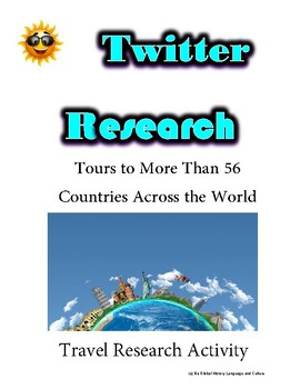 (Travel and Tourism) Expat Explore Travel - Twitter Research Guide