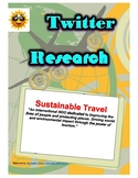 (Travel and Tourism) Sustainable Travel - Twitter Research Guide