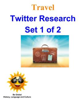 (Travel and Tourism) Twitter Research BUNDLE 1 of 2