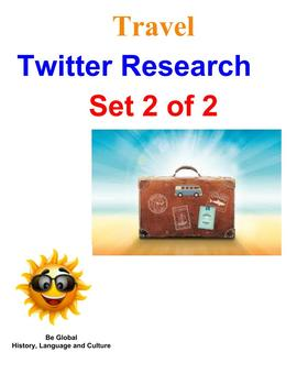(Travel and Tourism) Twitter Research BUNDLE 2 of 2