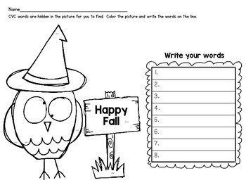 #Trick-or-Treat Freebie Day 6 CVC Search and Find