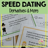 Calculus Derivatives and More Speed Dating