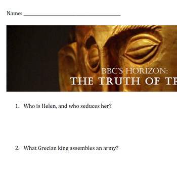 """Truth of Troy"" Viewing Guide"