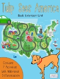"""""""Tulip Sees America"""" Book Extension Activities for Reading"""