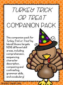 """Turkey Trick or Treat"" Companion Pack"