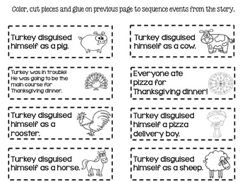 *Turkey Trouble* Differentiated Comprehension Pack