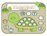{Turtle Transformation} Cut + Paste Speech Activity for In