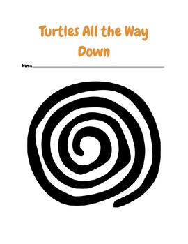 """""""Turtles All the Way Down"""" Chapter-by-Chapter Comprehension Questions"""