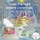 'Twas The Night Before Christmas Lesson and Pop Up Book