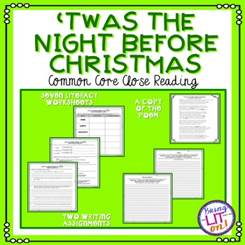 'Twas the Night Before Christmas - Common Core Close Reading