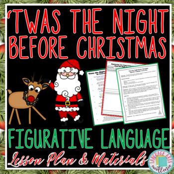 'Twas the Night Before Christmas Figurative Language Lesson Plan