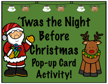 'Twas the Night Before Christmas STEM Pop-Up Card