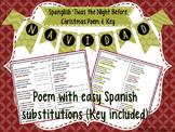 'Twas the Night Before Christmas Poem (Spanish English Spanglish)