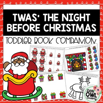 """Twas the Night Before Christmas"" Toddler Curriculum"