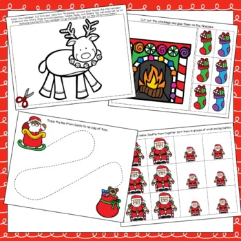 """""""Twas the Night Before Christmas"""" Toddler Curriculum"""