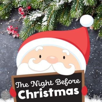 'Twas the Night Before Christmas Vocabulary Pack