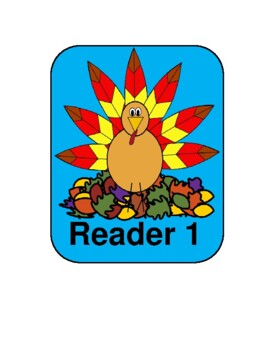 'Twas the Night Before Thanksgiving -- A Thanksgiving Reader's Theater