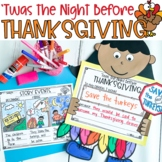 'Twas the Night Before Thanksgiving: Interactive Read Aloud Lessons & Activities