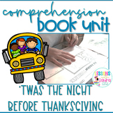 'Twas the Night Before Thanksgiving Book Unit