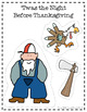 'Twas the Night Before Thanksgiving Literacy and Math
