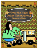 """Twas the Night Before Thanksgiving"" Literacy and Math"