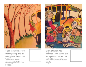 Adaptive Books- 'Twas the night before Thanksgiving