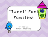 """Tweet"" Fact Families"