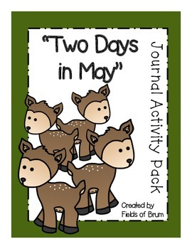 """""""Two Days in May"""" Journal Activity Pack"""