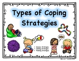 """Types of Coping Strategies"" Student Activity"