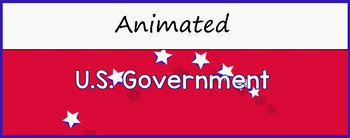 """U.S. Government"" Google Classroom Animated Theme"