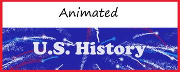 "Google Classroom Animated Theme ""U.S. History"""