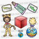 """-UBE"", ""-UME"" Word Families Clip Art | Magic E Clipart"