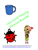 -UG Word Family Packet