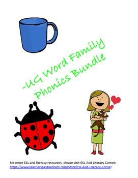 -UG Word Family Packet