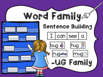-UG Word Family Sentence Building