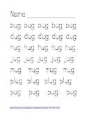 -UG Word Family Tracing